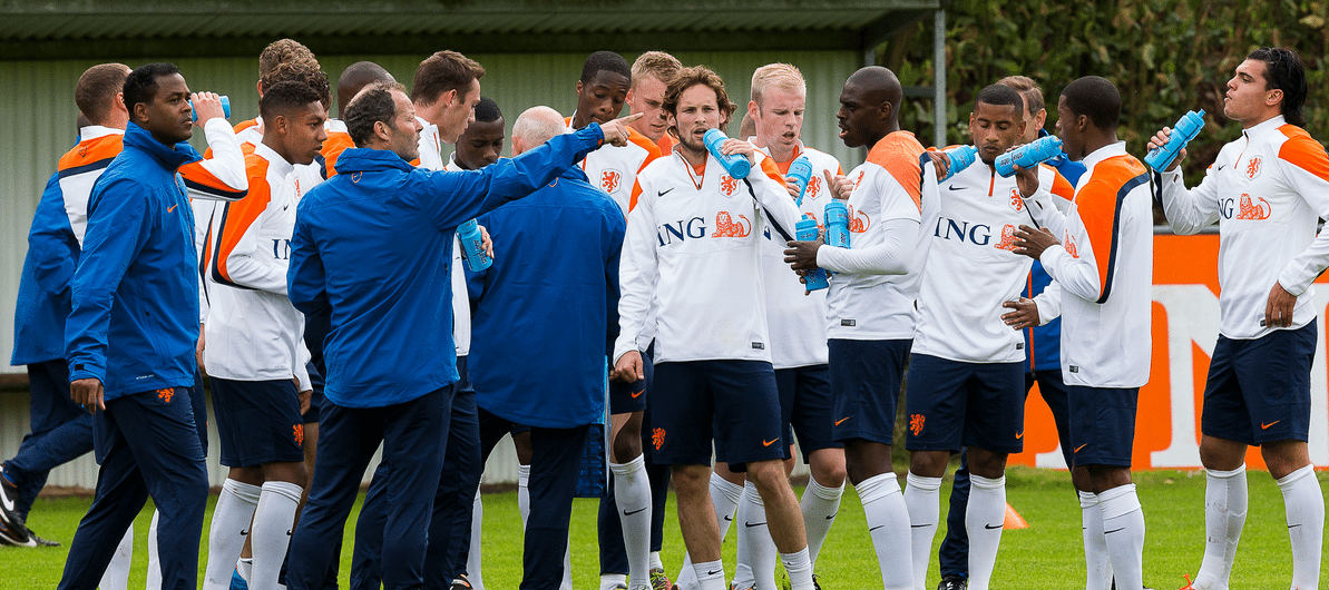 Oranje arriveert in Lagos voor trainingskamp
