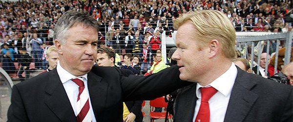 Guus Hiddink en Ronald. ©Pro Shots