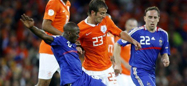 Nederland - Frankrijk in 2008. ©Pro Shots