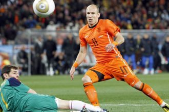 Robben en Casillas. ©Pro Shots