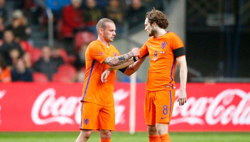Daley Blind krijgt de aanvoerdersband van Wesley Sneijder