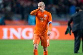 arjen Robben, aanvoerder van Oranje