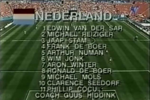 opstelling usa nederland