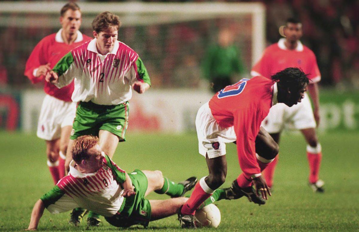 Wales nederland in 1996