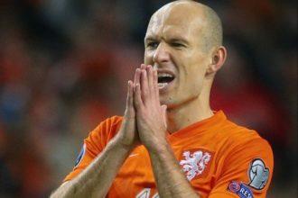 Geblesseerde Robben mist duel met Rostov
