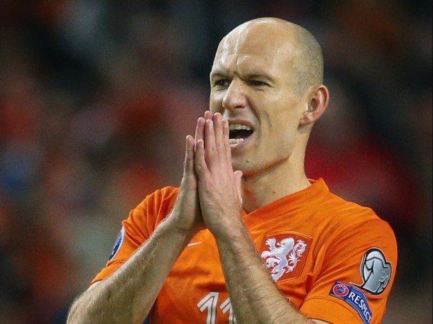Robben: wij horen lang niet bij de beste landen