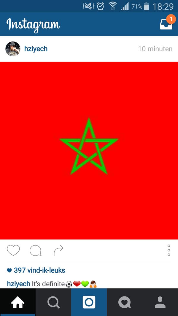 Ziyech kiest voor Marokko