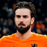 Portretfoto Davy Pröpper Nederlands elftal