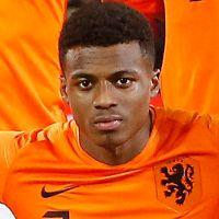Portretfoto Javairo Dilrosun Nederlands elftal