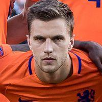 Portretfoto Joel Veltman Nederlands elftal