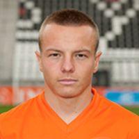 Portretfoto Jordy Clasie Nederlands elftal