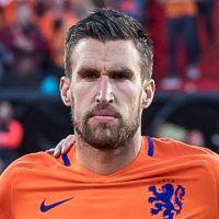 Portretfoto Kevin Strootman Nederlands elftal
