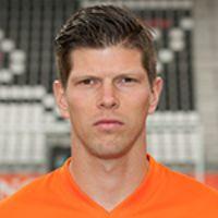Portretfoto Klaas-Jan Huntelaar Nederlands elftal