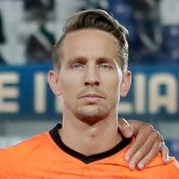 Portretfoto Luuk de Jong Nederlands elftal