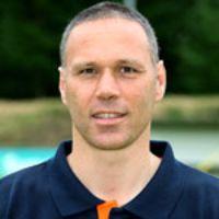 Portretfoto Marco van Basten Nederlands elftal