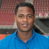 Portretfoto Patrick Kluivert Nederlands elftal