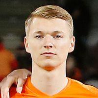 Portretfoto Perr Schuurs Nederlands elftal