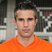 Portretfoto Robin van Persie Nederlands elftal