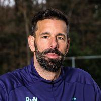 Portretfoto Ruud van Nistelrooy Nederlands elftal