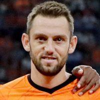 Portretfoto Stefan de Vrij Nederlands elftal