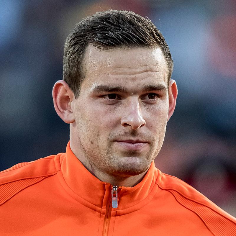 Portretfoto Vincent Janssen Nederlands elftal