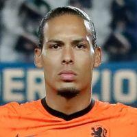 Portretfoto Virgil van Dijk Nederlands elftal