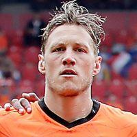 Portretfoto Wout Weghorst Nederlands elftal