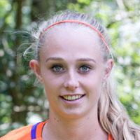 Portretfoto Cheyenne van den Goorbergh Nederlands elftal