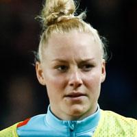 Portretfoto Danique Kerkdijk Oranjeleeuwinnen
