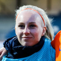 Portretfoto Inessa Kaagman Oranjeleeuwinnen