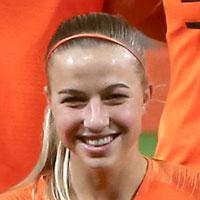 Portretfoto Jackie Groenen Oranjeleeuwinnen