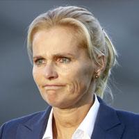 Portretfoto Sarina Wiegman Oranjeleeuwinnen